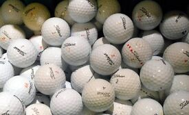 30 golf ballsfor sale either titleist or nike or srixon or callaway £10 some pen markings