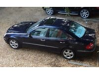 Mercedes E320 CDI Avantgarde Diesel Saloon Blue Grey Lthr S/Roof FSH STUNNING LOOK