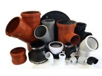 10% OFF!! Drainage pipe & fittings, soil drain, manhole, flexible, solvent/pushfit/compression waste