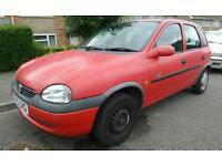 Vauxhall Corsa 1.4 Breeze Hi-Torq, Long MOT