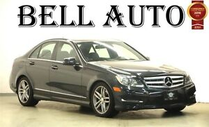 2013 Mercedes-Benz C-Class C 300 4MATIC PANORAMIC ROOF LEATHER S