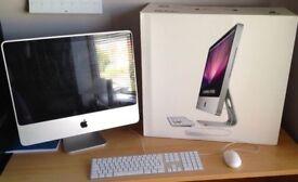 iMac 20 Apple C2D 2.4Ghz 4Gb 320Gb HDD Logic Pro X Final Cut Pro X Reason Ableton Adobe CC Warranty