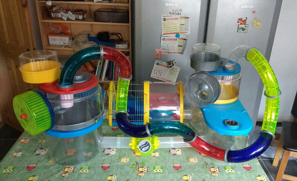 Complete Rotastak Set - Hamster Home with Accessories