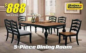 5-Piece Dining Table Set Only $888