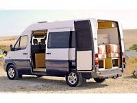 Mercedes Sprinter luxury off grid Campervan, 2 berth, solar panels, underslung gas tank, full MB sh