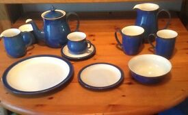 Denby Imperial Blue China - large quantity in excellent condition