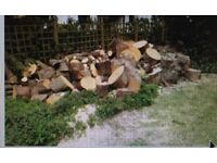 !BARGAIN! - SMALL LORRY LOAD OF SEASONED WOOD. Cut to lengths - just need splitting.