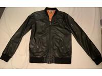 Vintage Edwin leather jacket - man