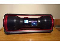 Pioneer STEEZ boom box/iPod docking