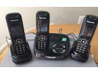 Panasonic KX-TG8521E Dexter trio digital cordless phone