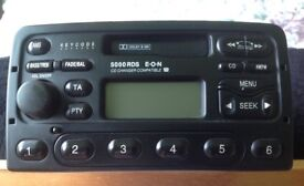 FORD 5000 RDS E.O.N STEREO CD CHANGER COMPATIBLE