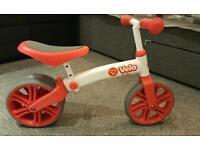 Y Velo Junior balance bike red