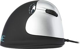 R-Go HE Ergonomic mouse, Large (above 185mm), Right Handed, wired, 500-3500dpi