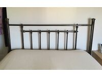 Metal 5 foot headboard