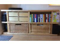 IKEA Storage Unit, Living Room Furniture: floor standing, versatile storage, good condition.