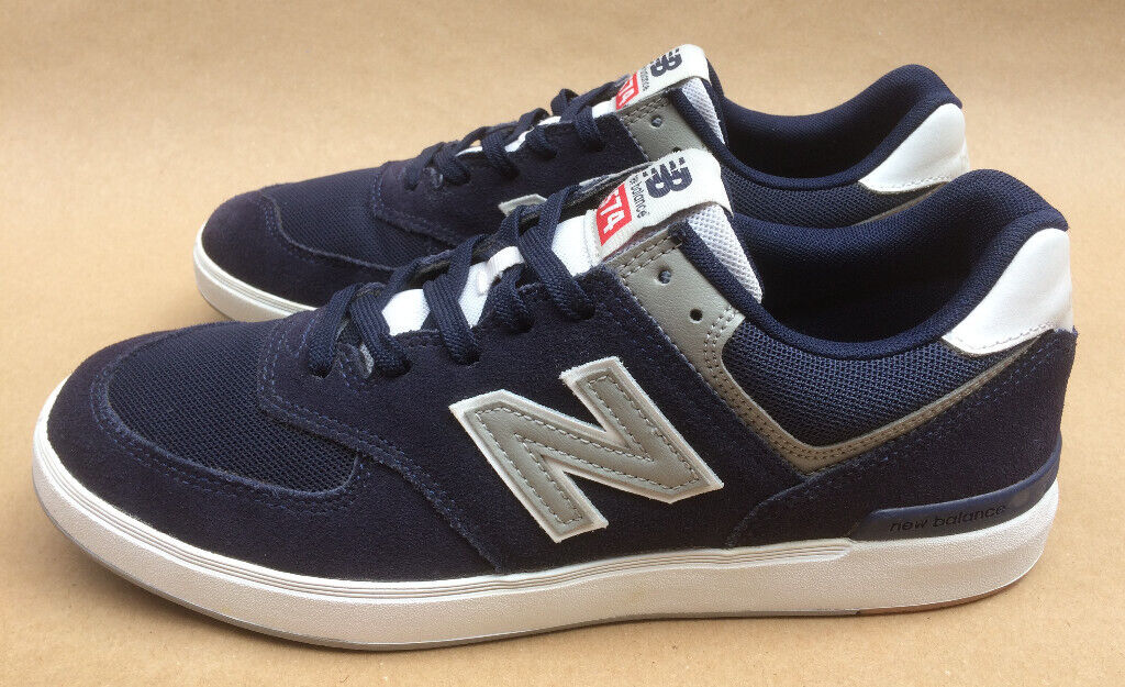 New Balance All Coasts 574 Mens UK Size 10 (Navy + Grey, Court Style Rubber Sole, SuedeMesh Upper) | in St George, Bristol | Gumtree