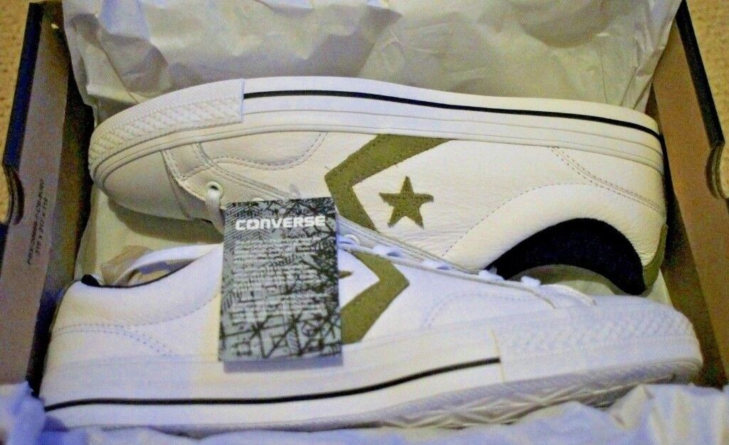 5220cdec6350 Converse Star Player Leather Ox Unisex 10 UK 44 Eur BNWT