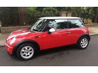 2003 MINI COOPER AIR CONDITIONING SERVICE HISTORY ONE YEARS MOT MINI COOPER ONE S