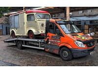 Vehicle recovery Trafford centre - jumpstart battery - wheel changing - transportation