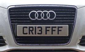 Personal Car Registration CR13 FFF (CRIEFF)