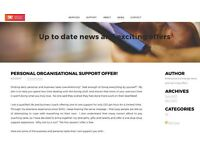 Personal Organisational Support Offer (Only for a limited time)