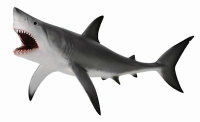 GREAT WHITE SHARK (OPEN JAW) - Sealife Model by CollectA 88729 *New with tag*