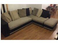 Dfs corner sofa very good condition