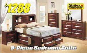 5-Piece Bedroom Suite- Emily