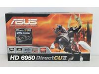 NOS ASUS Radeon HD 6950 2GB GDDR5, Eyefinty 6, Gaming Graphics card