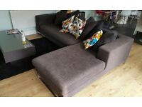 Dwell corner sofa and arm chair