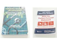 Medical School Interviews PLUS Get Into Med School - perfect personal statement....2 books!