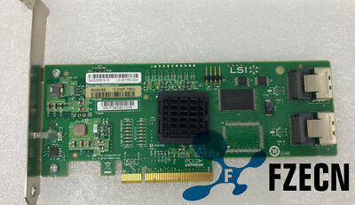 LSI SAS 3081E-R 3Gb/s 8 Port SATA/SAS 1068E Host Adapter Controller Card PCI-E