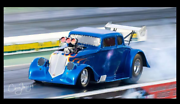 Drag car 1933 willys blown chev Bundall Gold Coast City Preview