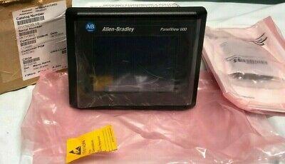 Allen-bradley Hmi 2711-t6c20l1 Panelview 600 Touchscreen Ser B Rs-232 Ethernet