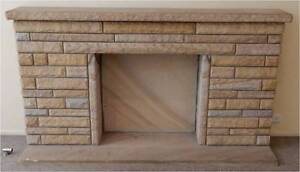 Beautiful Sandstone Fire Place (Fireplace) Hornsby Hornsby Area Preview