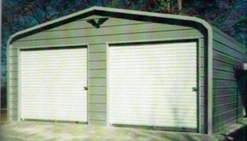 24x26 STEEL Metal Garage, Storage Building, Carport FREE DEL. & INSTALLATION!