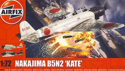 Airfix Nakajima B5N2 Kate Pearl Harbor 1941 & 553er Kokutai 1:72 Modell-Bausatz