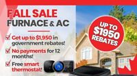 Free Air Conditioner / Furnace Install