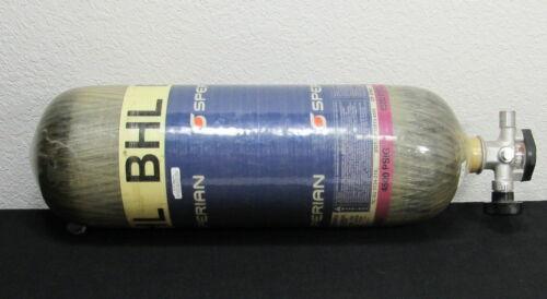 Survivair Sperian 60 MIN 4500 PSIG LUXFER BHL SCBA Carbon Tank Cylinder 2008