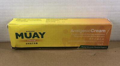 NEW - Namman Muay Analgesic Cream 100 Gram  -  Ships Free From USA