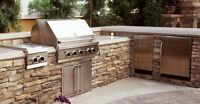 Outdoor kitchens/bars, custom homes and more