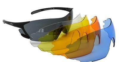 Wrapz SHOOTER Interchangeable Archery Sunglasses New 5 lens Model Shooting