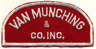 Van Munching & Co. Inc. Patch