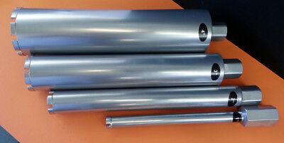 1 - 2 - 3 - 4 Combo 4pcs Wet Diamond Core Drill Bit Set