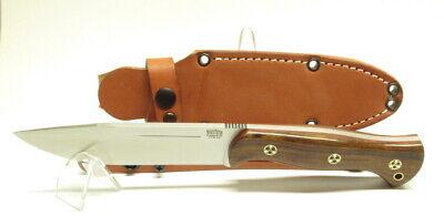 Bark River Knives Cub, Desert Ironwood #2, Red Liners, Mosaic Pins, CPM3V, Moran