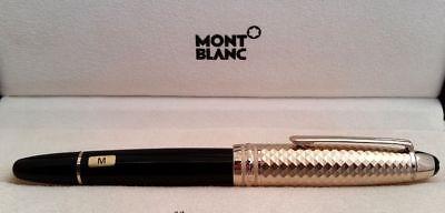 VD Sale ! Montblanc Meisterstuck LeGrand Geometric Dimension fountain pen+BONUS](mont blanc fountain pen sale)