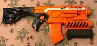 Nerf N-Strike Elite Demolisher 2-In-1 w/ Clip Stock & 1x Missile / Tested Works