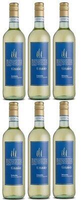 6 Flaschen Tinaio Lugana D.O.C. a 0,75 L 12,5 % vol. Weißwein Trocken