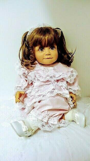 """ HALEY "" 26"" vinyl doll by Virginia E Turner # 136 Very fine Condition. RARE"