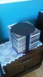 CD HOLDER ..... HOLDS 69 MUSIC CD'S ..... CD'S ARE NOT INCLUDED